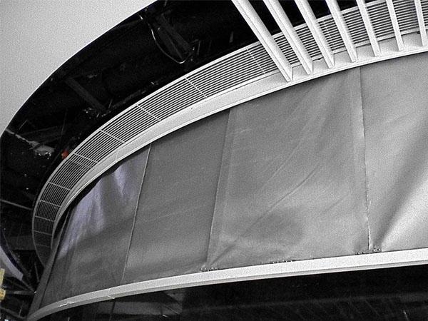 卷帘式挡烟垂壁
