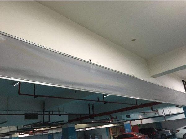 自动卷帘式挡烟垂壁